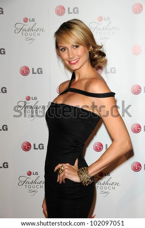 "Stacy Keibler at the LG ""Fashion Touch"" Party, Soho House, West Hollywood, CA. 05-24-10"
