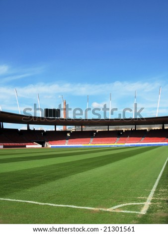 Stadium in Zurich - stock photo