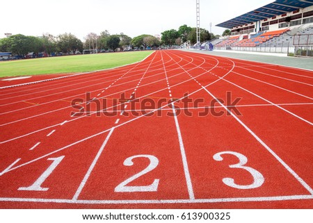 Athletics Track Stock Images Royalty Free Images