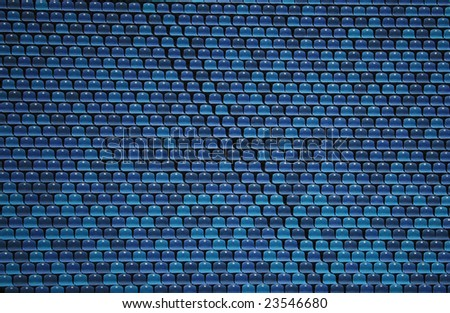 Stadium Seat Stock Photo
