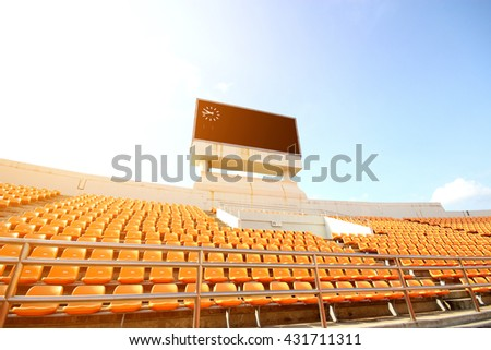 Stadium Seats Stock Images Royalty Free Images Amp Vectors