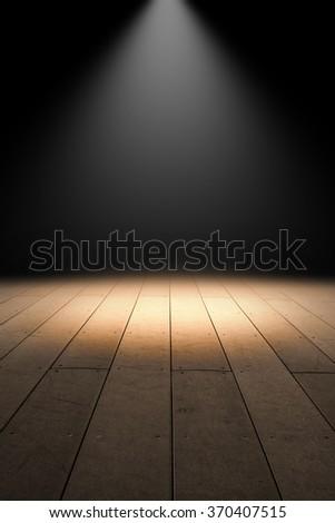 Stage - stock photo