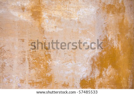 Stain of a paint Venetian - stock photo