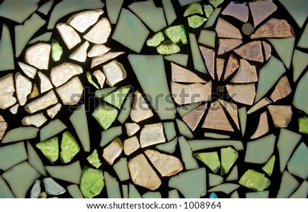 Stained glass 2 - stock photo