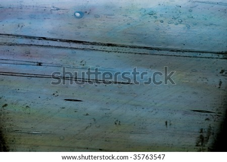 stained glass close-up - stock photo