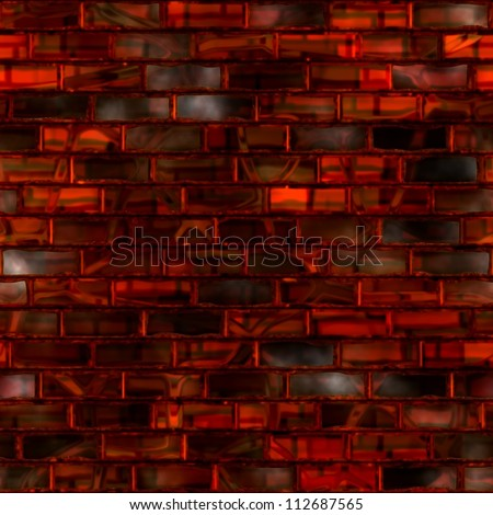 Stained glass. Seamless texture. - stock photo