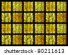 Stained glass texture - stock photo