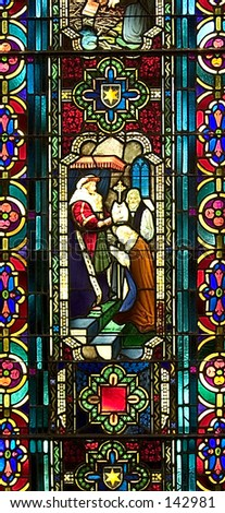 Stained Glass Window - Religious