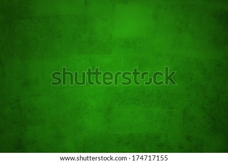 stained green background - stock photo