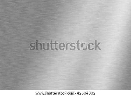 Stainless steel background - stock photo