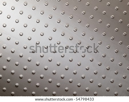 Stainless steel surface - stock photo