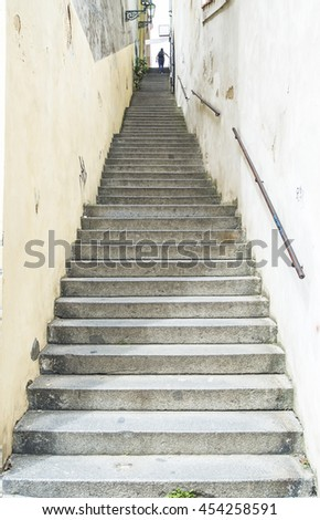 Staircase in Prague