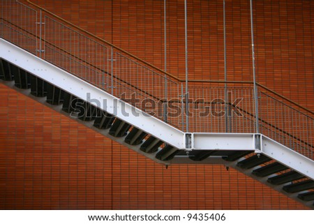 Stairs fire escape