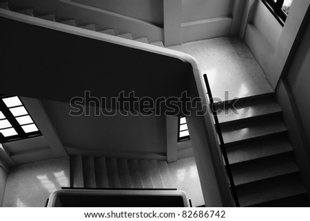 stairs in thai building
