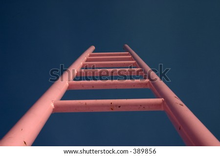 stairs to heaven - stock photo