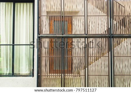Stairs Front Door Building Hinding Behind Stock Photo Royalty Free