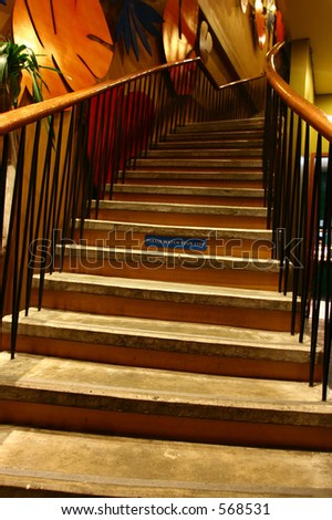 stairwell 01 - stock photo