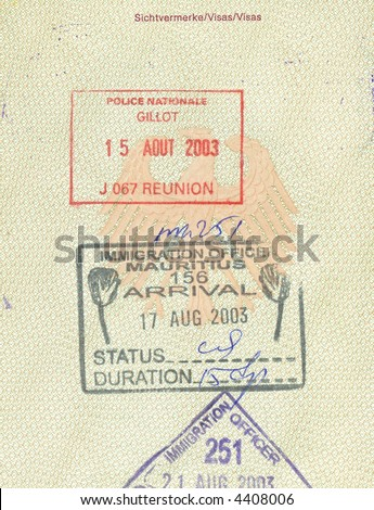 Italian Passport Sovietunion Czechoslovakia Tunisia Border Stock Photo 10581556 Shutterstock
