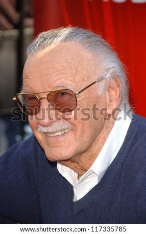 "Stan Lee at the season 2 auditions for Stan Lee's ""Who Wants To Be A Superhero,"" Universal Studos, Universal City, CA 02-16-07"