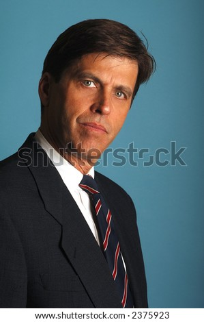 Stand Up Portrait Of Working Attorney