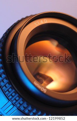 standard lens with maximum aperture of F1.4
