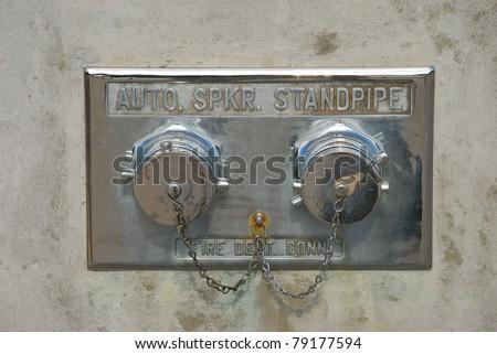 Standpipe FDC - stock photo