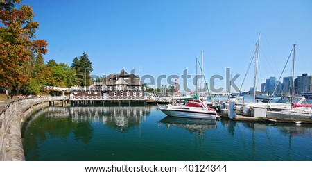 Stanley park in Vancouver Canada - stock photo
