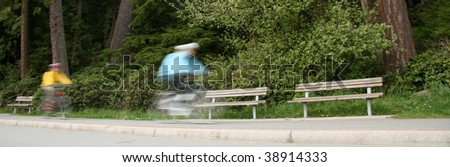 Stanley Park, One of the Largest Urban Park's in The World - Vancouver, BC, Canada - stock photo