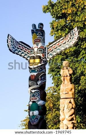 Stanley park, Vancouver, Canada - stock photo