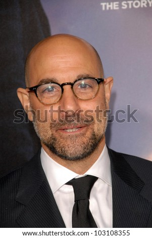 "Stanley Tucci at the Los Angeles Premiere of ""The Lovely Bones,"" Chinese Theater, Hollywood, CA. 12-07-09"