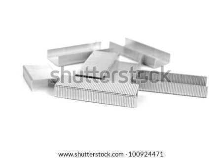 Staple - stock photo
