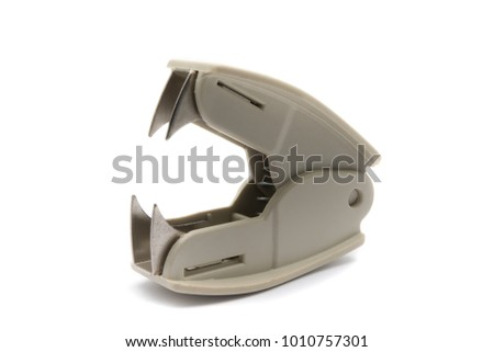 Staple Remover on White Background