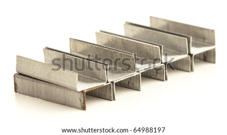 staples stack isolated on a white background
