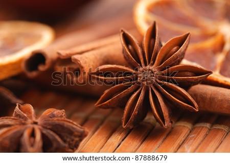 Star anise - stock photo