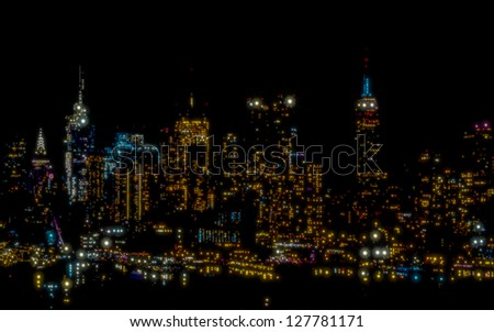 Star City - stock photo