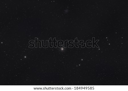 Star Clusters M53 and NGC 5053 - stock photo