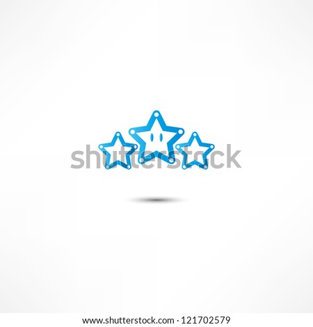 star icon - stock photo