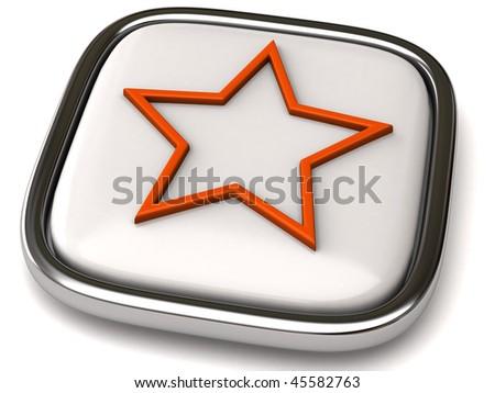 star icon - stock photo