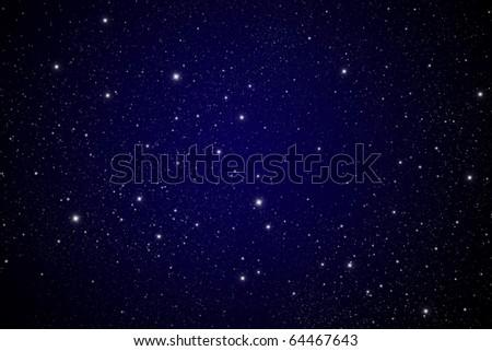 star in The dark Galaxy. - stock photo