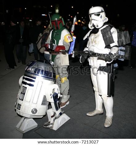 Star wars - stock photo