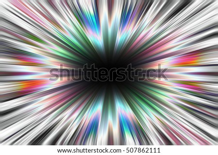 Starburst explosion background with a black centre