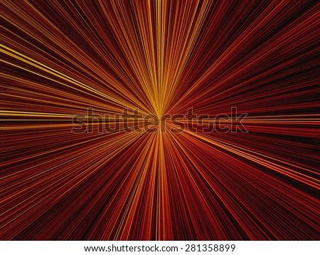 Starburst Light - Texture - stock photo