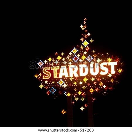 stardust - stock photo