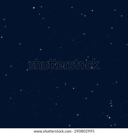 Starfield in the Milky Way. - stock photo