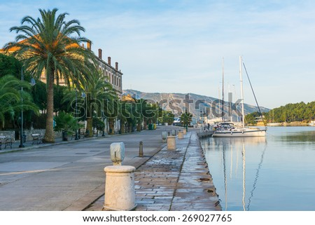 Stari Grad marina, Croatia - stock photo