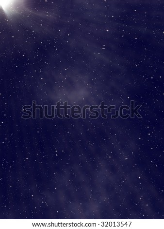 starry abstract cosmic background