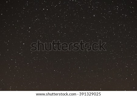 starry sky, the stars in the night sky, the stars on a dark background - stock photo