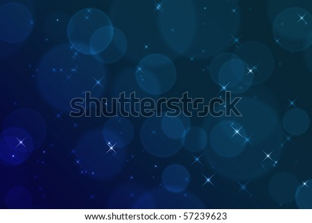 stars and soft lights abstract background out of focus - stock photo