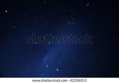 Stars at night - stock photo