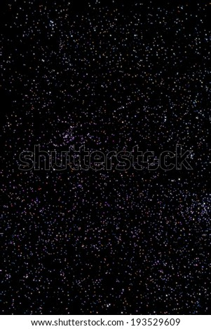 Stars in a zodiacal constellation of Pisces. - stock photo